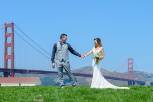 Wedding Photography at Crissy Field