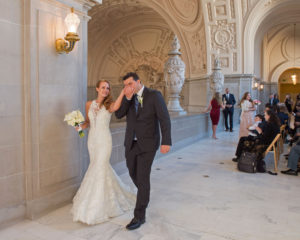 Reserved Wedding at San Francisco City Hall