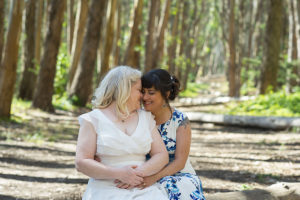 Presidio wedding photography at Woodline