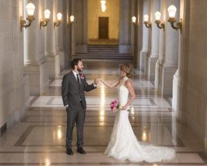 Hallway Wedding Image