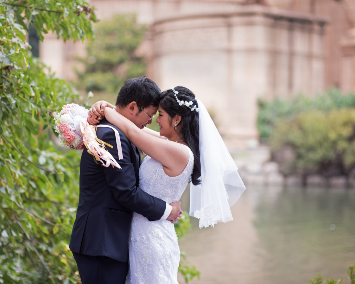 Asian Wedding at the Palace of Fine  Arts