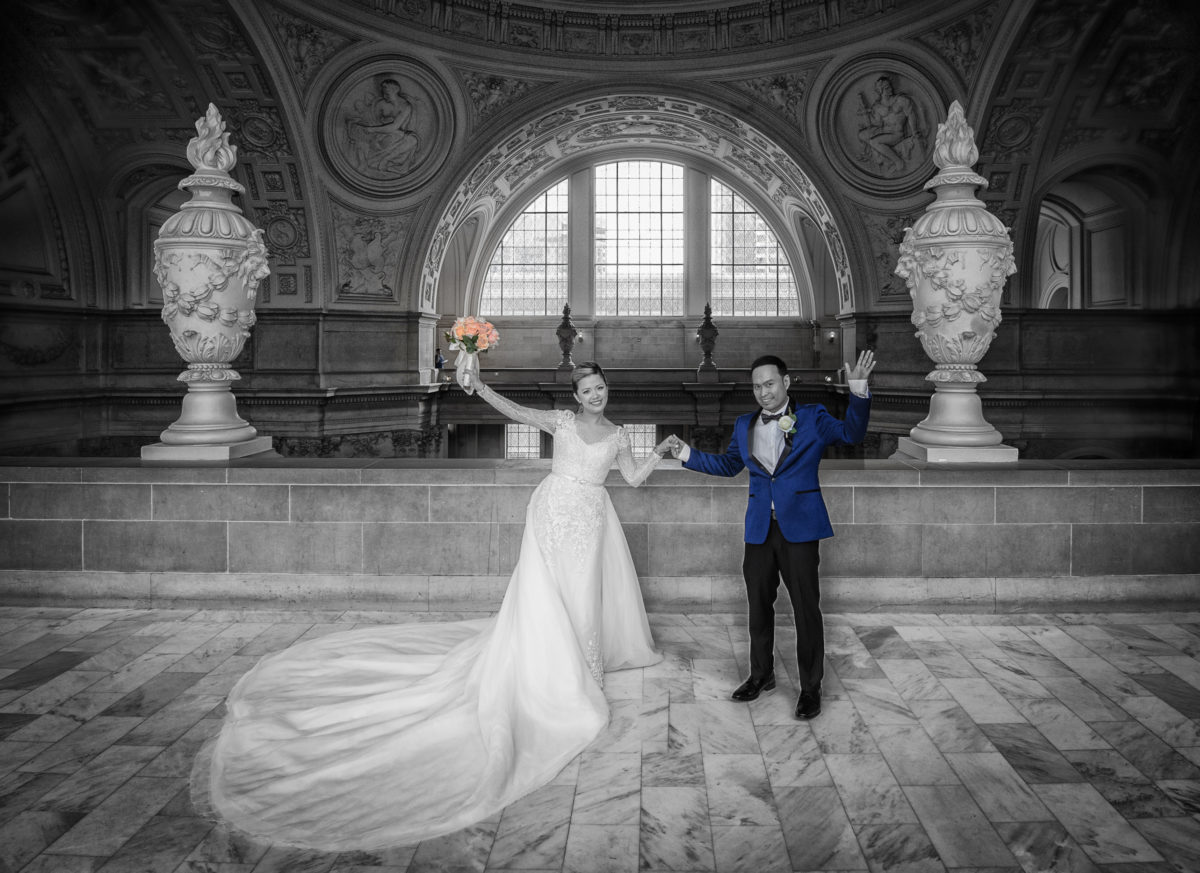 San Francisco Wedding Photography at City Hall