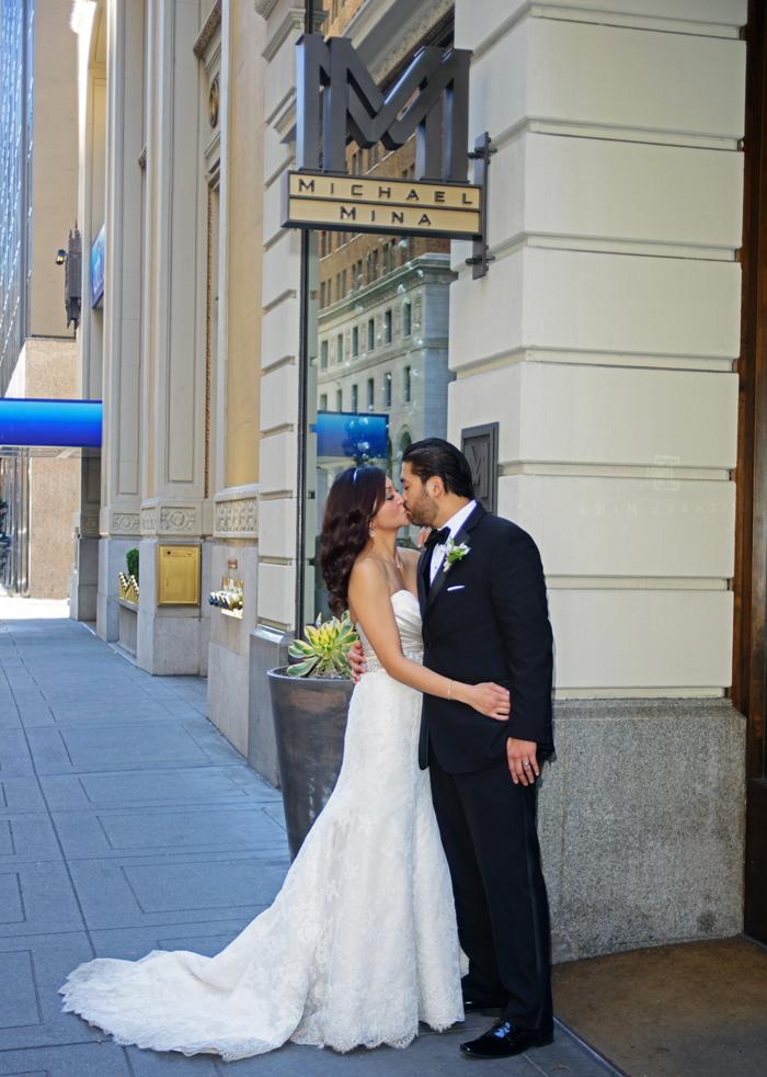 Wedding Reception in San Francisco