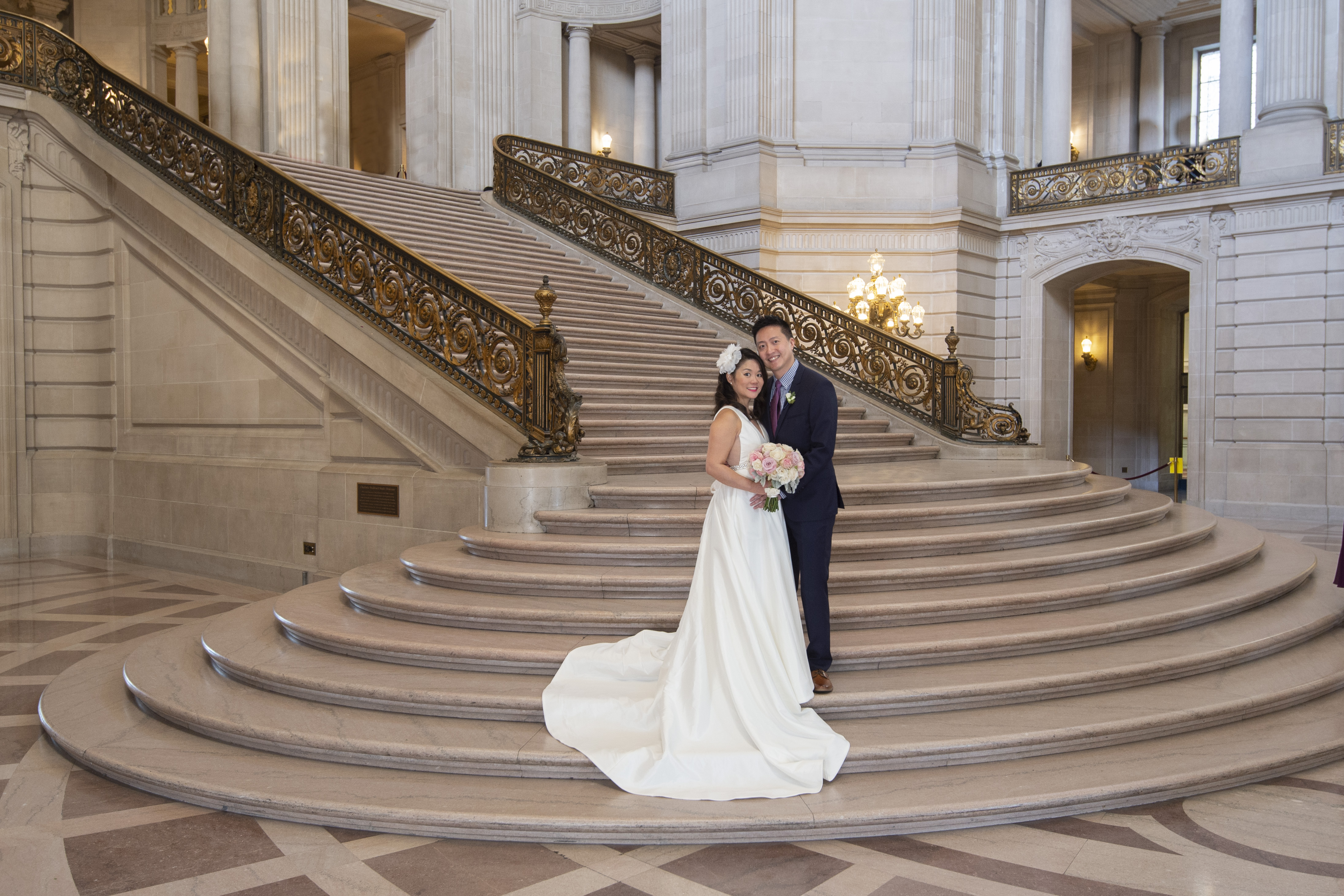 The Grand Staircase at SF City Hall