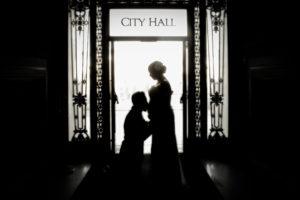 Maternity photography at San Francisco City Hall