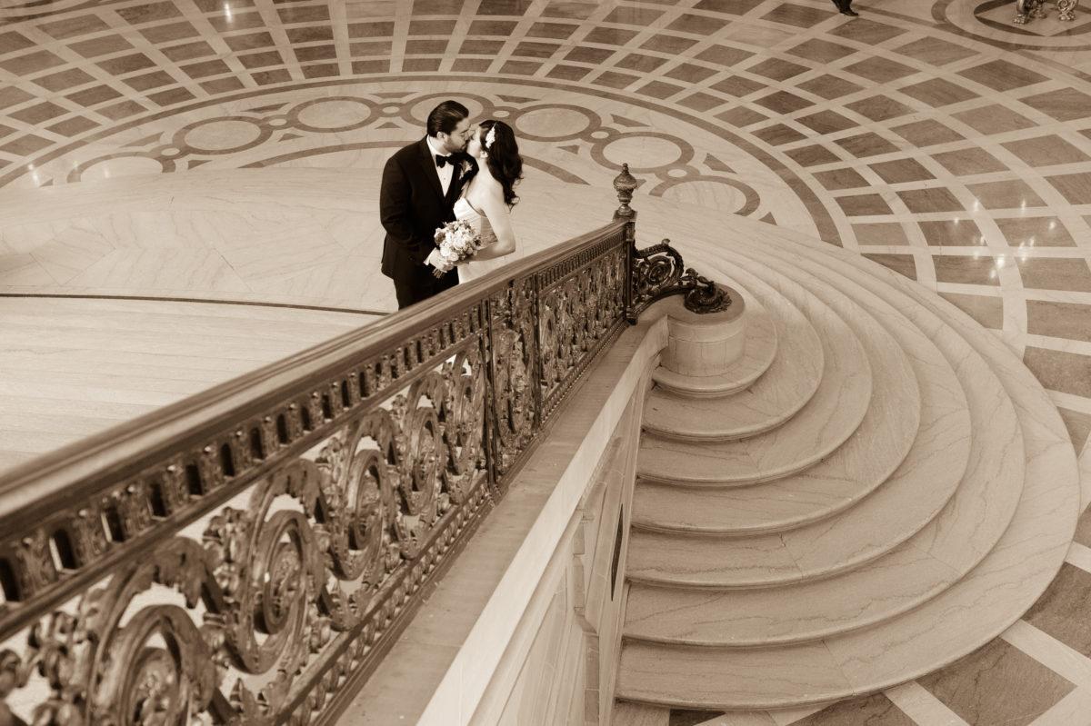 San Francisco City Hall Staircase