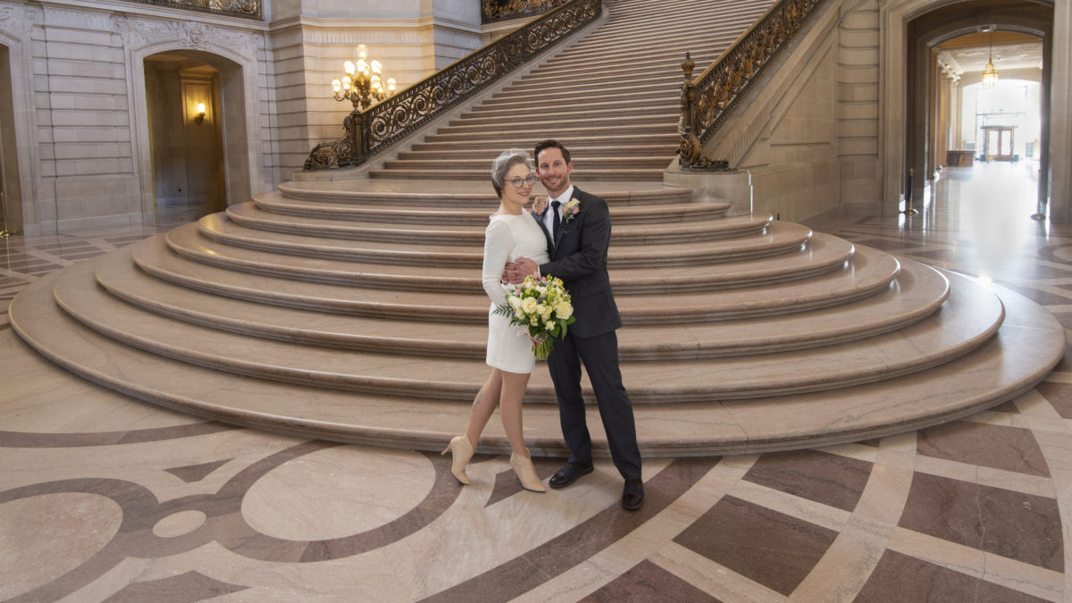 A Recent 2019 San Francisco  City Hall Wedding