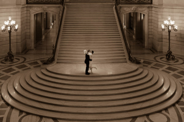 Grand Staircase at San Francisco city hall