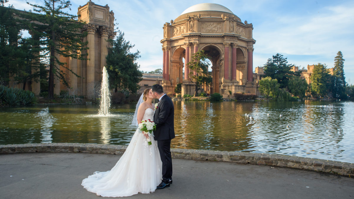 Palace of Fine Arts Panoramic view