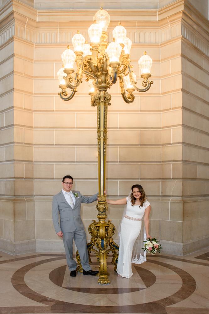 Wedding photography at San Francisco city hall